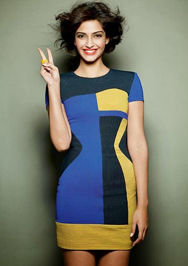 Sonam Kapoor's Cosmopolitan Magazine October 2010 Photos