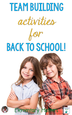 """Team Building Activities for Back to School - Here are five easy """"get to know you"""" activities that can be used at any time to encourage working together."""