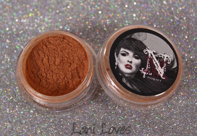 Notoriously Morbid Eye of the Tiger eyeshadow swatches & review