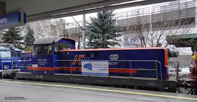 Lokomotywa SM42-3005, PKP Intercity, stacja Kraków Główny