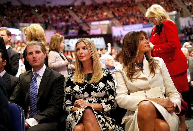 Ivanka and Melania Trump