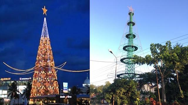 Pohon Natal Tertinggi di Asia Tenggara Butuh Perhatian