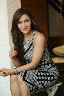 Telugu Actress Angela Krislinzki Latest Pos in Short Dress  0182.JPG