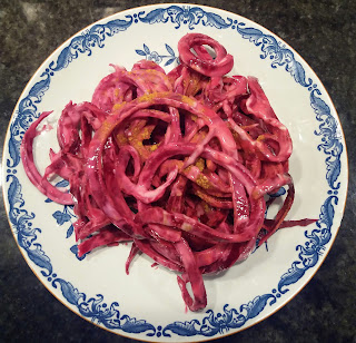 Beetroot cut i Gefu Spirelli Spaghetti Slicer