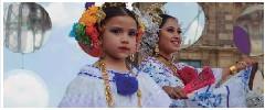 PRESENTACIÓN DE BAILES TÍPICOS DE LA REPÚBLICA DE PANAMÁ