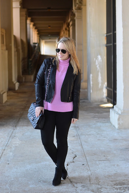 sweater-faux-leather-jacket-outfit