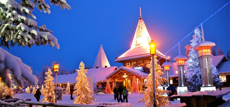 Dove E La Casa Di Babbo Natale.Il Villaggio Di Babbo Natale In Lapponia