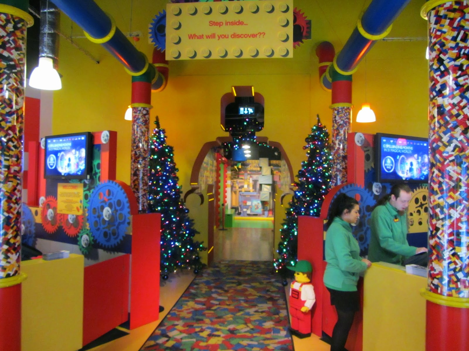 All About Bricks: LEGOLAND Discovery Centre Manchester ...