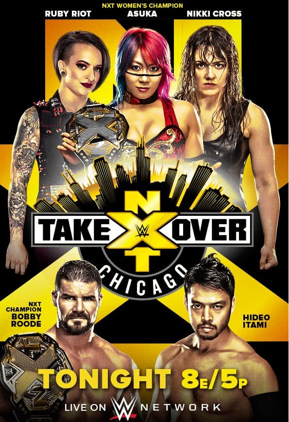 WWE NXT TakeOver : Chicago II (16 June 2018) 500MB HDTVRip 480p x264