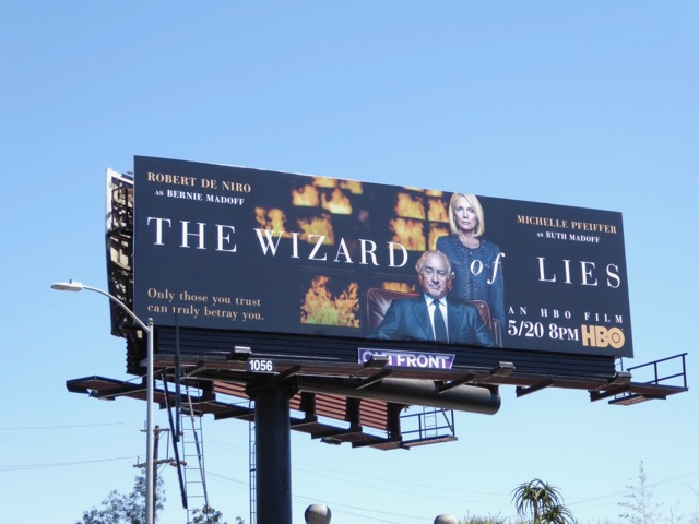 Wizard of Lies HBO movie billboard
