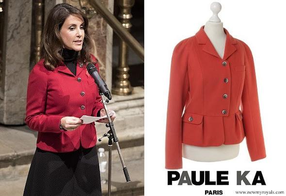 Princess Marie wore PAULE KA  Blazer