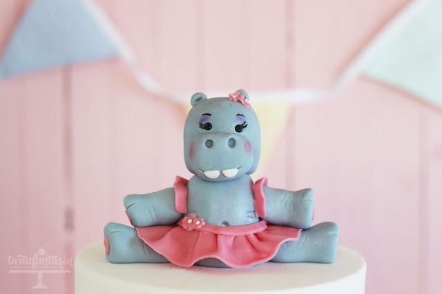 Tutorial hipopotamo de fondant