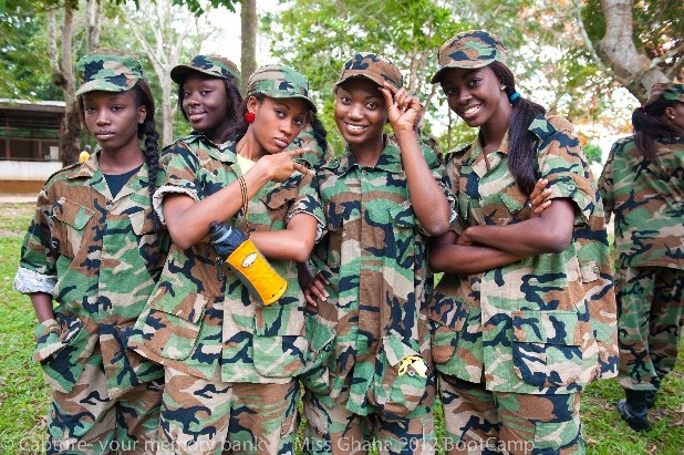 Ghanaian Military Women to Protest Lack Of Men To Make Them Pregnant