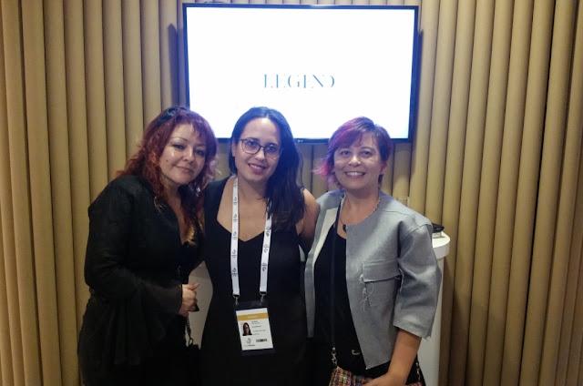 Andrea Polonio, Patricia dos Santos e euzinha