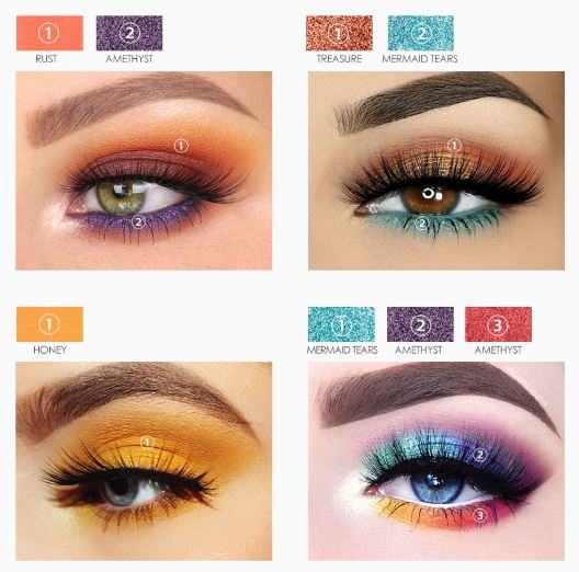Posibilities Eyeshadow Palette de Focallure