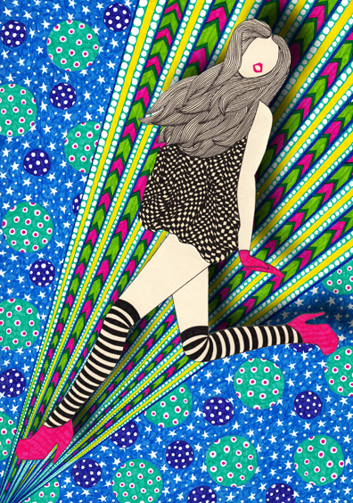 Nikki Farquharson. Fashion Collages