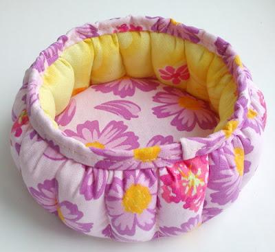 текстильные шкатулки