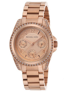 MICHAEL KORS Blair Multi-Function Rose Gold-Tone MK5613