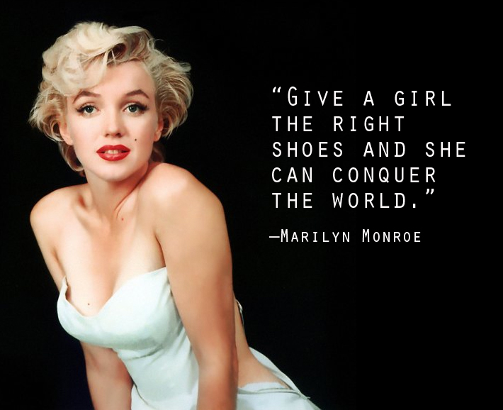 Fashion Quote of the Week  Marilyn MonroeQuotes From Marilyn Monroe
