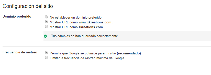 google select your preferred version captura