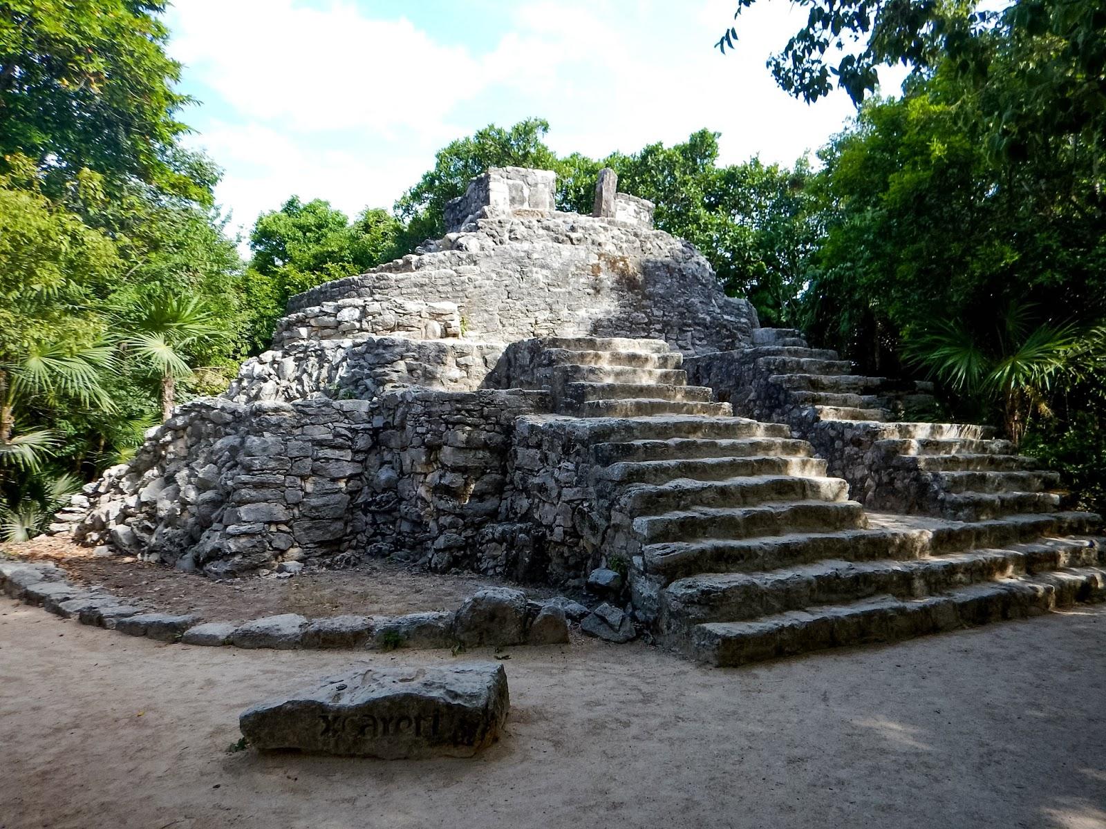 xcaret ruins