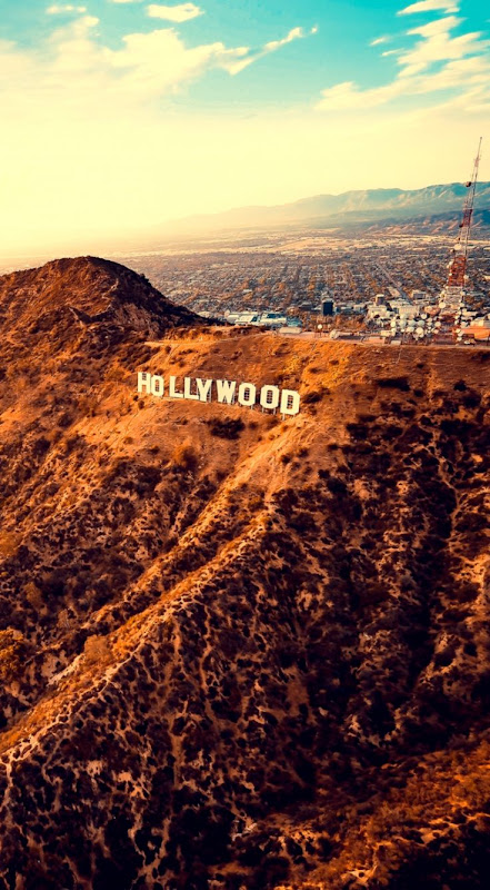 42449b33a02c Download wallpaper 800x1420 hollywood mountains los angeles