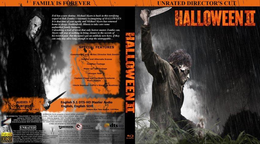 usa blu ray covers - Halloween 2 Music