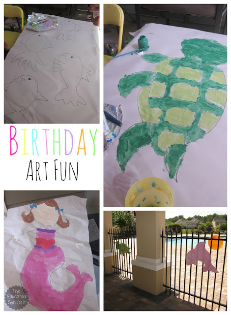 DIY Ocean Themed Birthday Party Decorations