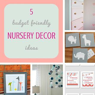 http://keepingitrreal.blogspot.com.es/2016/07/5-budget-friendly-nursery-decor-ideas.html