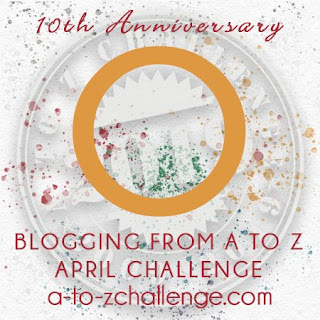 #AtoZChallenge 2019 Tenth Anniversary blogging from A to Z challenge letter O