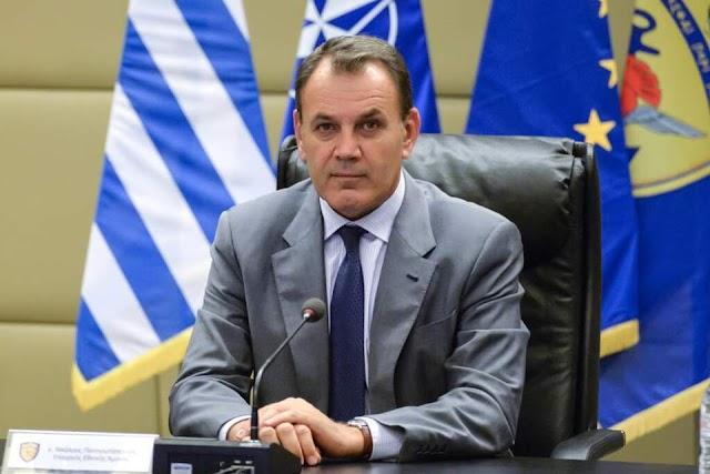 Τι είπε ο Παναγιωτόπουλος για χρέωση αδειών λόγω κορονοϊού σε κανονικές άδειες στα στελέχη ΕΔ (ΕΓΓΡΑΦΟ)
