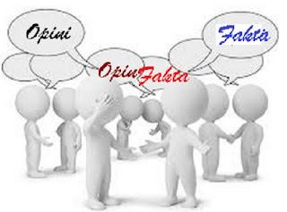 Ciri ciri fakta dan opini serta contohnya