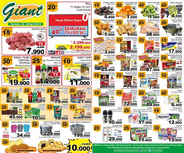 #Giant - #Promo #Katalog Periode 25 - 28 April 2019