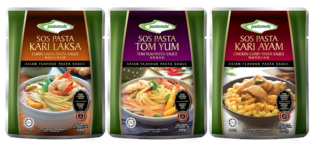 FALL IN LOVE WITH MALAYSIA'S FIRST ASIAN FLAVOURED PASTA SAUCE IN