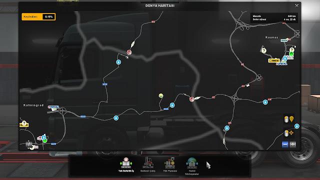 ets 2 google maps navigation v1.6, road border icon