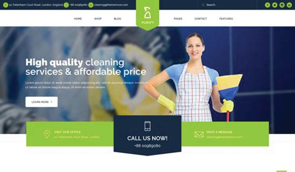 purify-cleaning-service-wordpress-theme