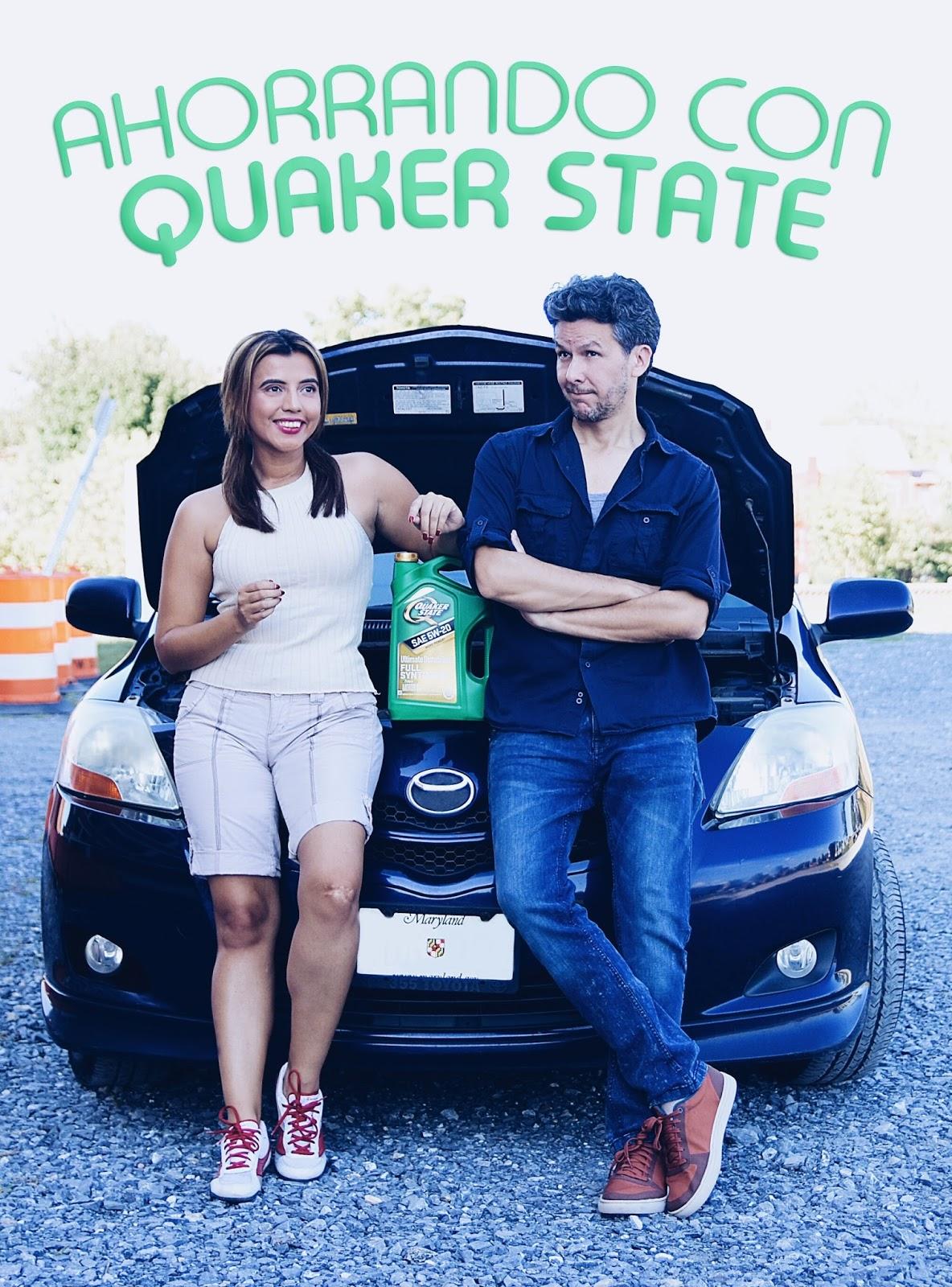 Ahorrando con Quaker State y Los Chuchis by Mari Estilo.