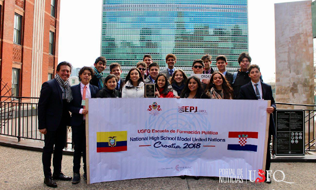 Escuela de Formación Política de la USFQ gana premio internacional en New York