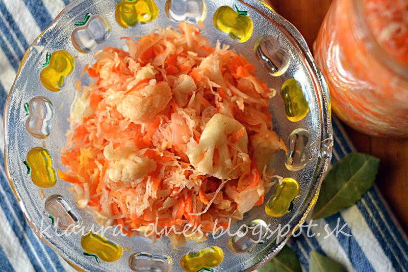 Pickles - kvasená zelenina
