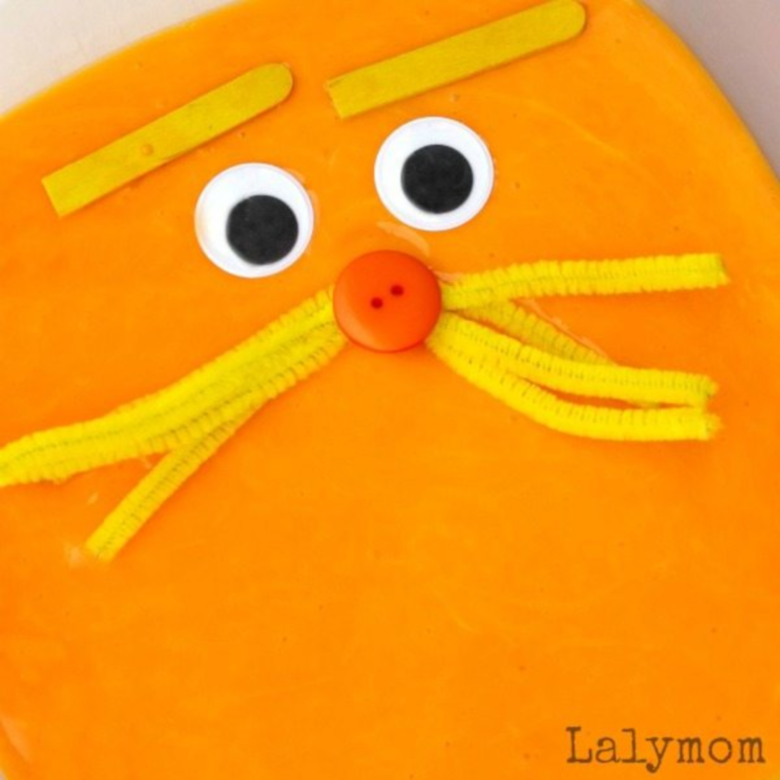 Dr Seuss Activities for Toddlers - Lorax slime