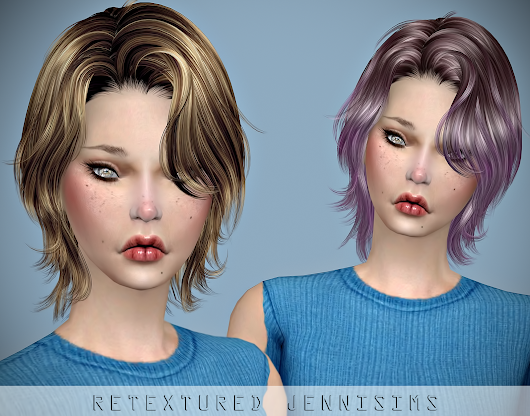 Downloads sims 4: Newsea Unchained Hair retexture Male /Female