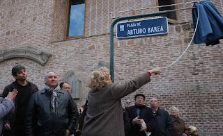 Arturo Barea vive en Madrid
