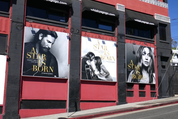 A Star is Born movie billboards