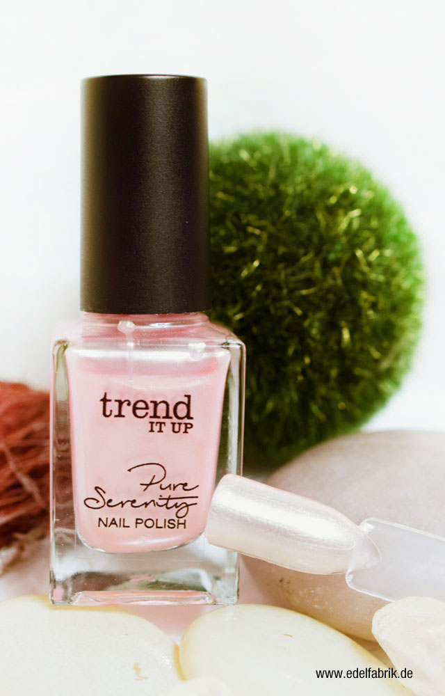 Pearl Nagellack aus der trend IT UP Pure Serentiy Limited Edition, Swatch