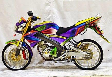 Gambar Modifikasi Yamaha Vixion