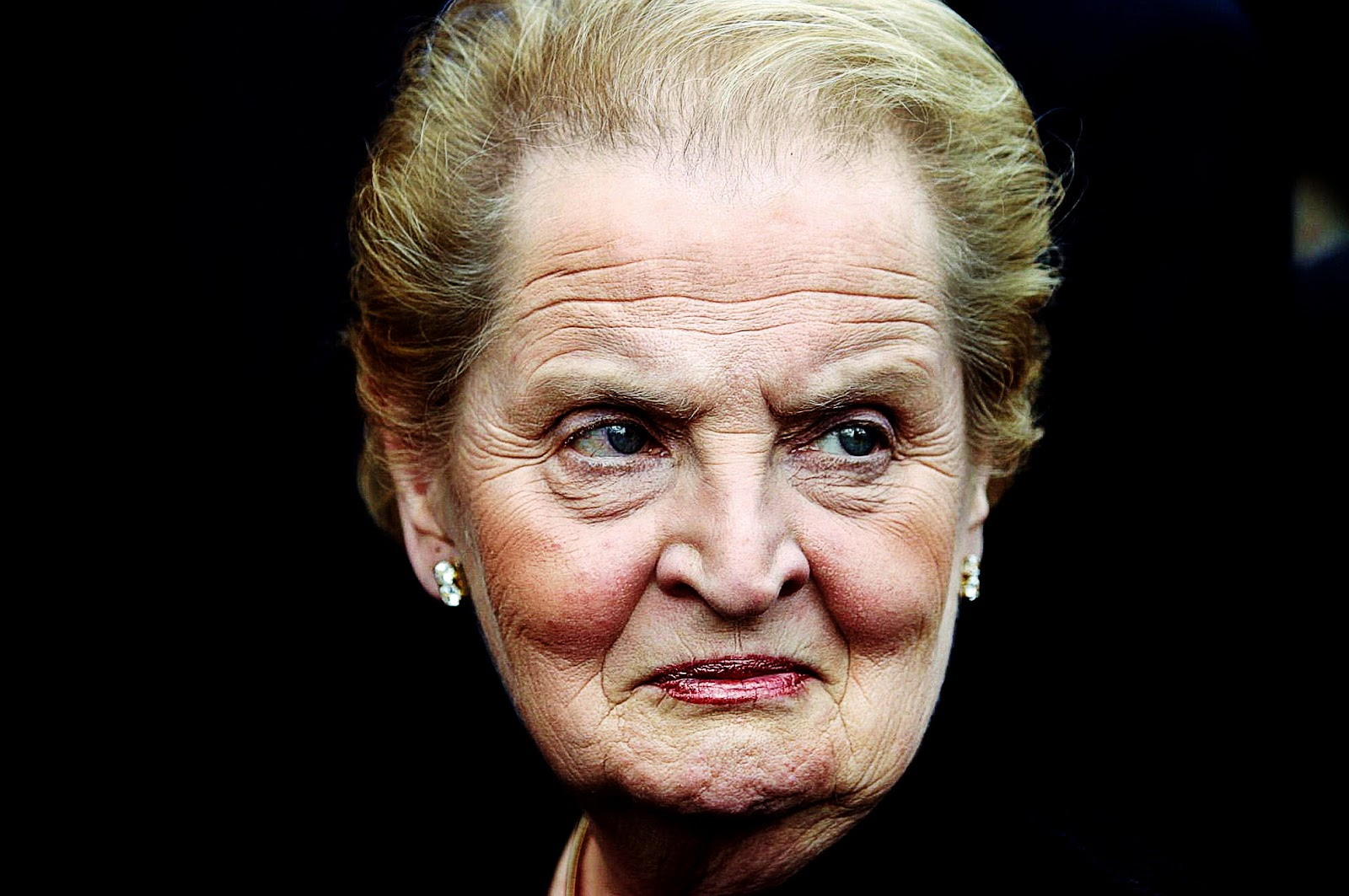 Image result for ugly pictures of madeleine albright