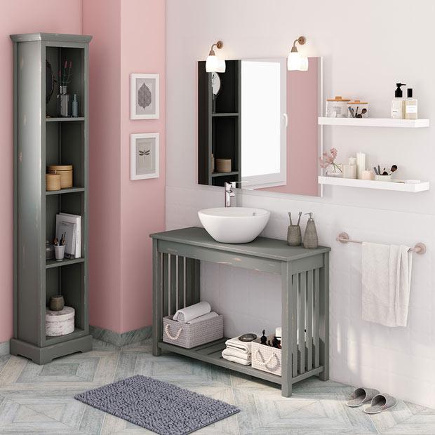 50 fotos de m veis para casa de banho pequena decora o - Baneras pequenas leroy merlin ...