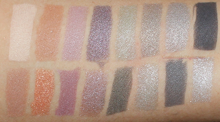 Lancome Auda[City] in London Eyeshadow Palette Swatches, EOTDs