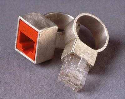 Diseño de anillo de bodas fuera de lo común