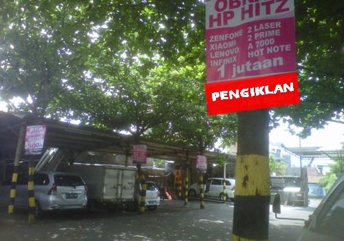 Contoh Promosi Toko Handphone Di Tempat Parkir Swalayan